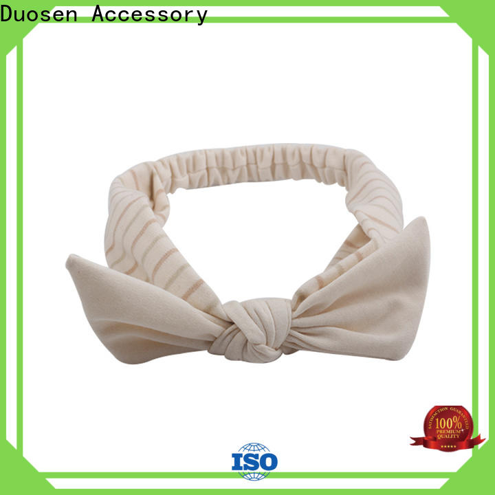 Duosen Accessory Best organic fabric headband manufacturers for sports