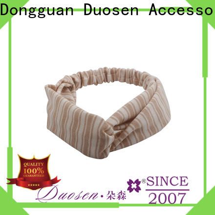 Duosen Accessory New organic cotton headband manufacturers for daily Life