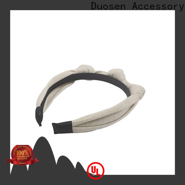 Duosen Accessory different fabric headbands wholesale factory for running