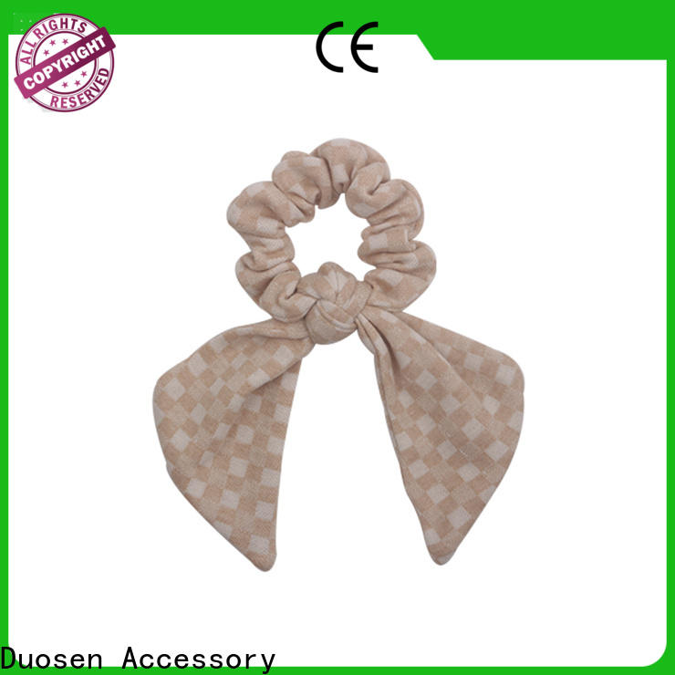 Best fabric scrunchies style Supply for girls