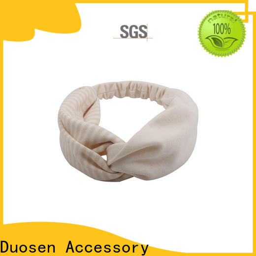 Duosen Accessory New fabric tie headbands company for party