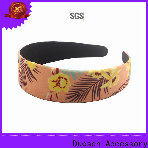 Duosen Accessory bow turban headband Suppliers for running