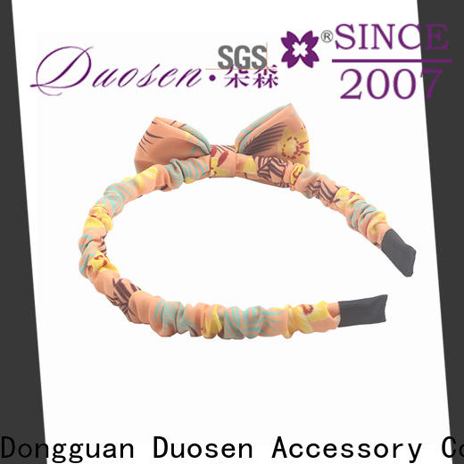 Duosen Accessory Custom cloth hairband Suppliers for running