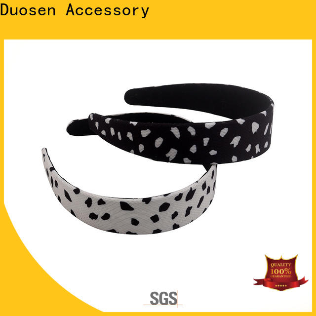 Custom wire fabric headband pattern Suppliers for sports