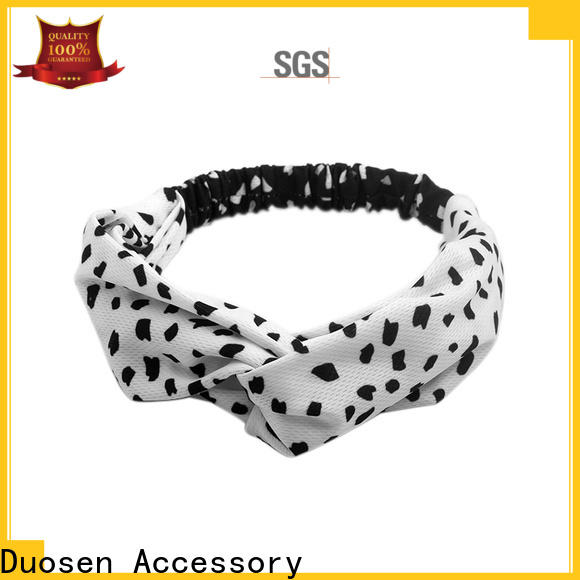Duosen Accessory flower fabric headbands wholesale factory for daily Life