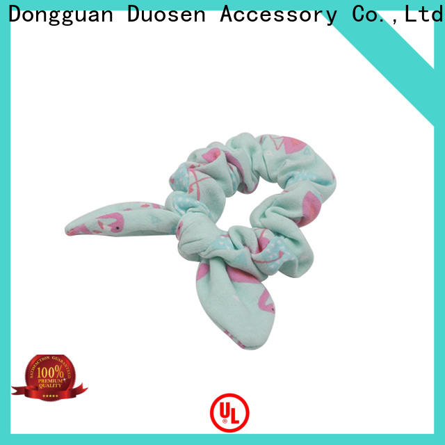 New scrunchie hair ties flamingo for business for girls