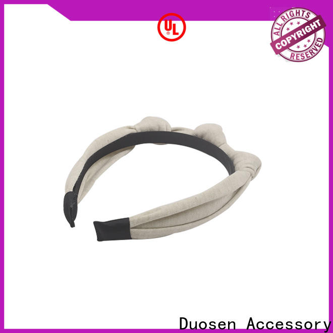 Wholesale fabric hair bands geometric Supply for party