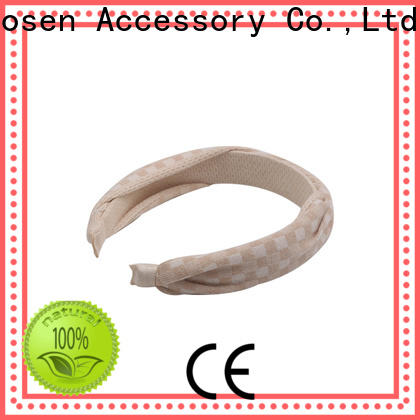 Duosen Accessory special fabric knot headband company for sports