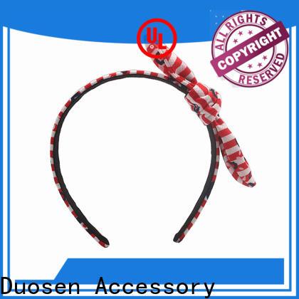 Duosen Accessory New fabric knot headband factory for daily Life