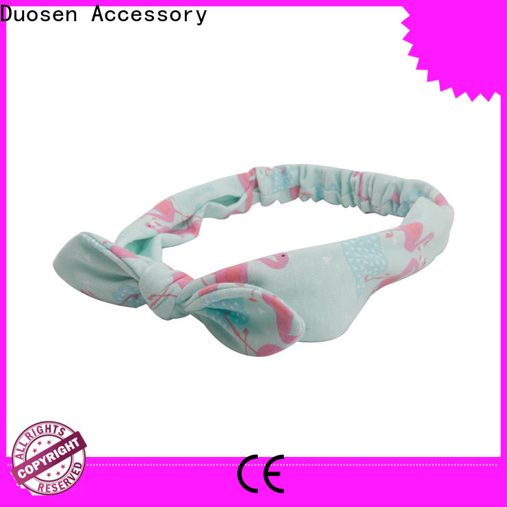 Custom cloth hairband covered factory for dancer