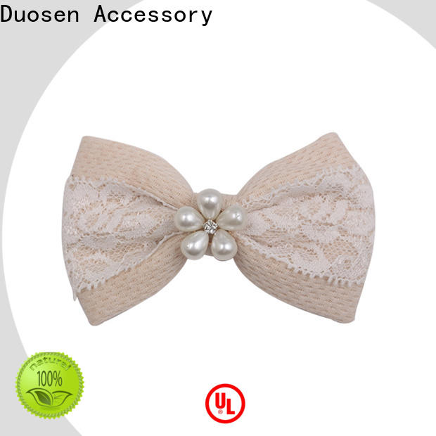 Duosen Accessory Latest how to make your own hair accessories manufacturers for women