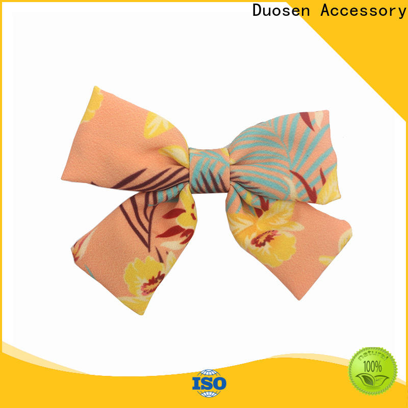 Duosen Accessory hair fabric hair clip manufacturers for party