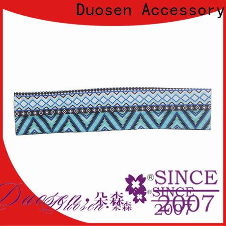 Duosen Accessory environmentally turban headband manufacturers for sports