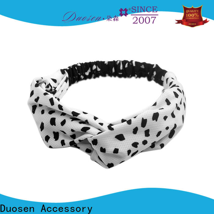 Duosen Accessory hair fabric headbands Supply for dancer