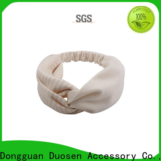 Duosen Accessory Custom fabric headbands manufacturers for party