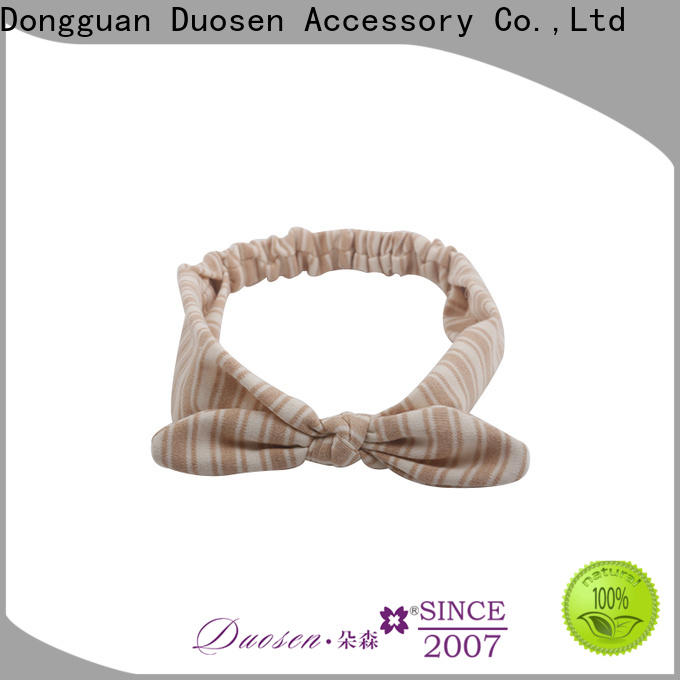 Duosen Accessory design girls fabric headbands Suppliers for daily Life