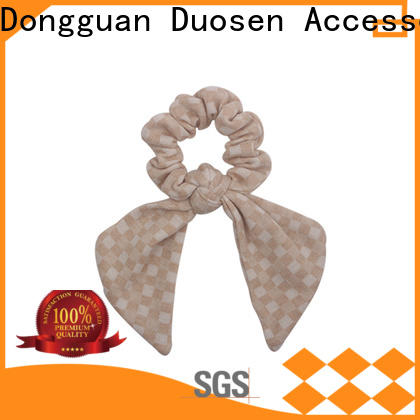 High-quality bow hair scrunchie woman Suppliers for girls