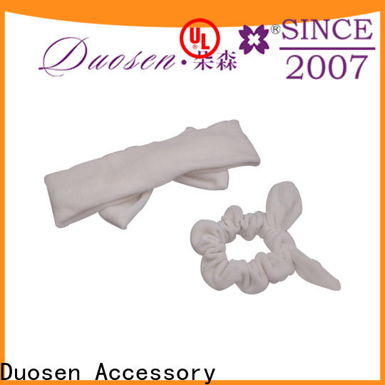 High-quality organic fabric bow headband flowers company for daily Life