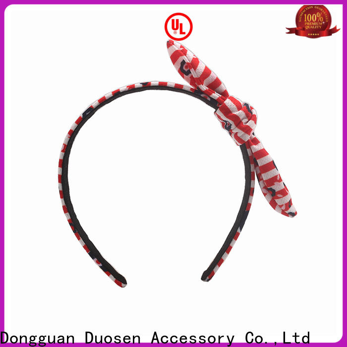 Duosen Accessory design turban headband company for prom