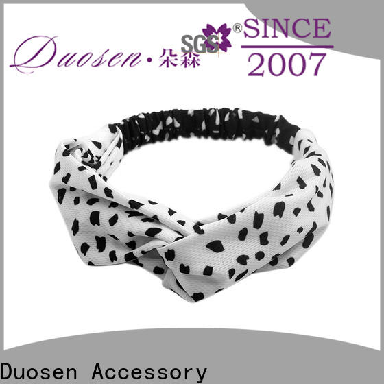 Duosen Accessory Wholesale fabric headbands wholesale for business for dancer