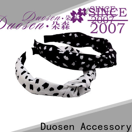 Duosen Accessory Top fabric headbands wholesale Suppliers for daily Life