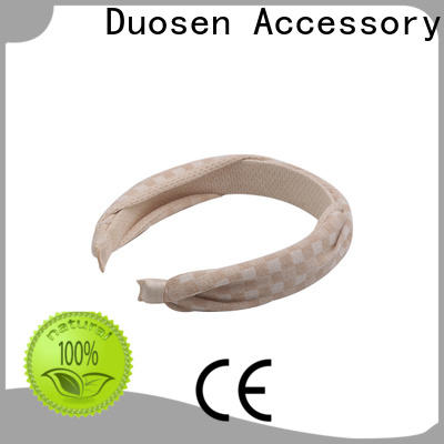 Duosen Accessory High-quality organic cotton headband manufacturers for running
