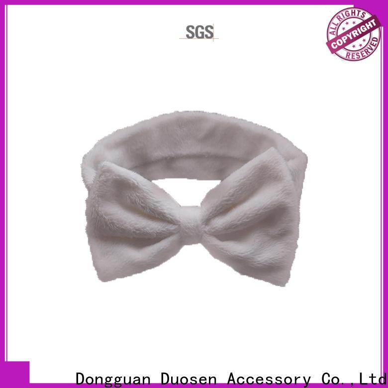 Duosen Accessory Custom cotton turban headband company for dancer