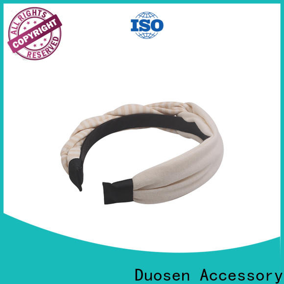 Duosen Accessory Latest cloth hairband for business for party