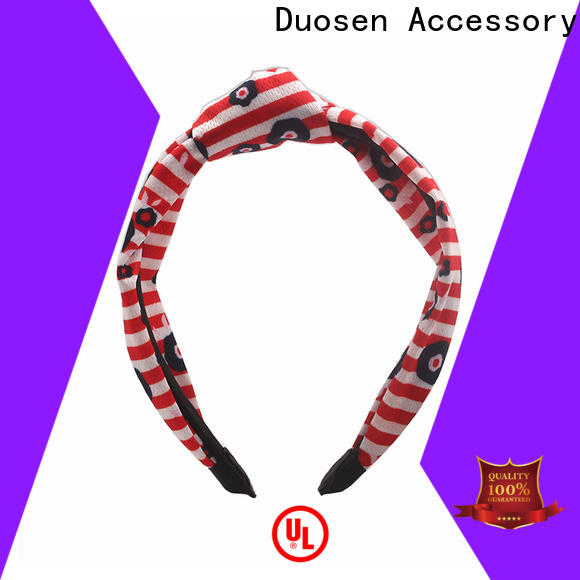 Duosen Accessory Best fabric alice band Supply for prom