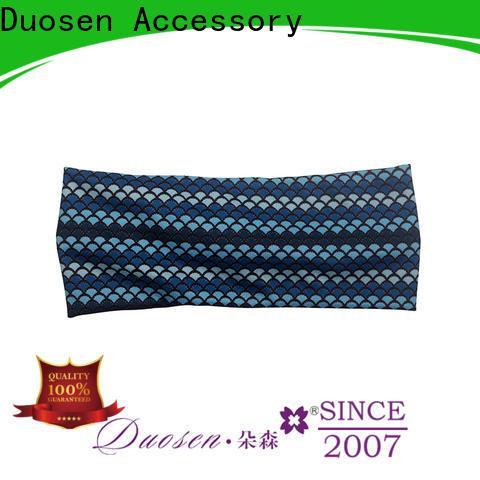 Duosen Accessory light cotton turban headband Suppliers for prom