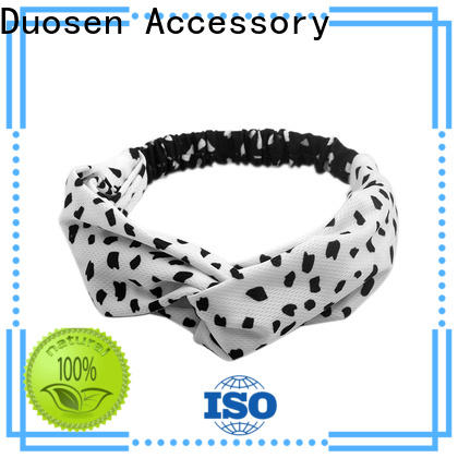 Duosen Accessory headband fabric headband factory for running