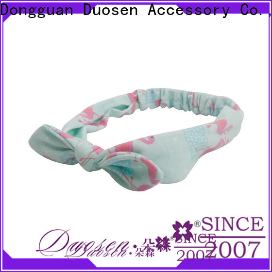 Duosen Accessory selling cheap fabric headbands Suppliers for prom