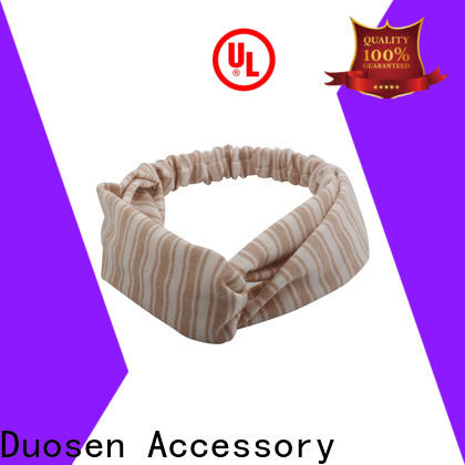Top organic cotton headband covered factory for daily Life