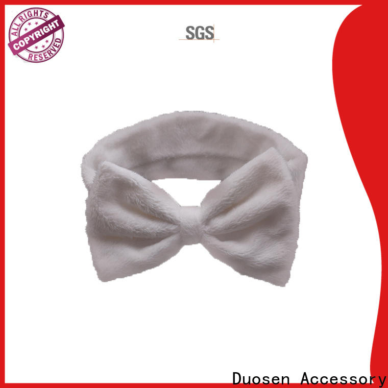 Duosen Accessory knotted girls fabric headbands company for running