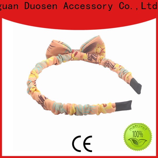 High-quality fabric elastic headbands eco-friendly manufacturers for running