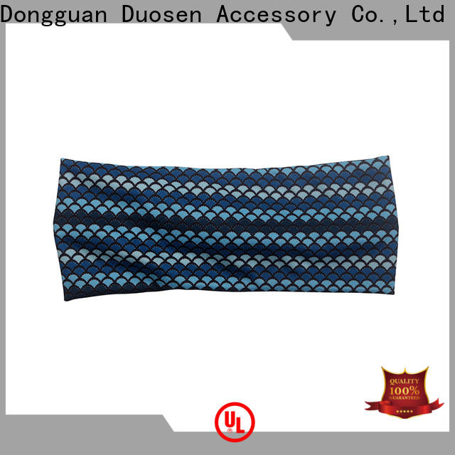 Wholesale organic fabric hairband hairbands Suppliers for sports