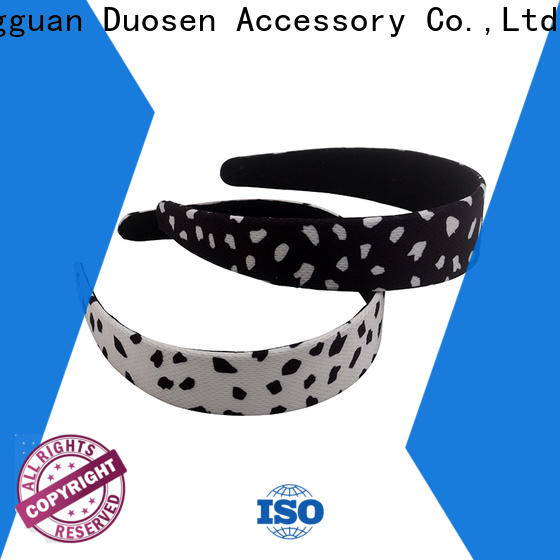 Duosen Accessory Wholesale girls fabric headbands manufacturers for running