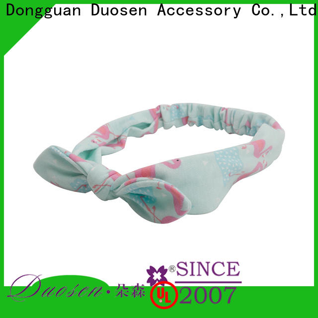 Duosen Accessory High-quality girls fabric headbands company for daily Life