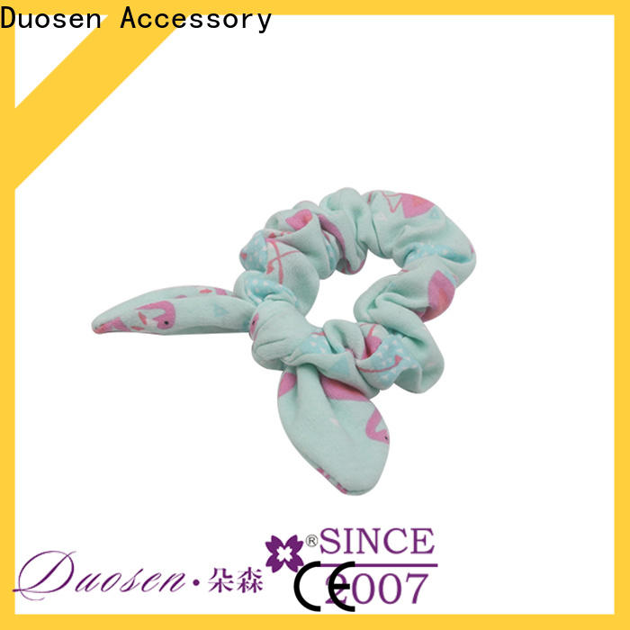 Duosen Accessory Latest fabric scrunchies for business for women