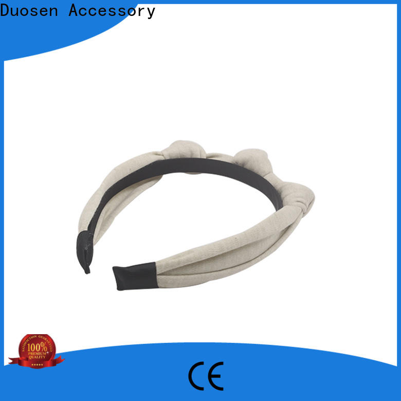 Duosen Accessory fresh fabric headbands wholesale manufacturers for dancer