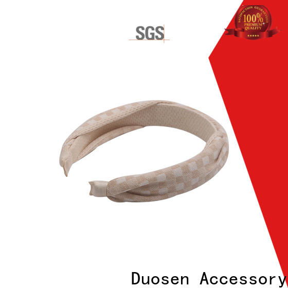 Duosen Accessory High-quality fabric alice band for business for sports