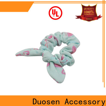 Duosen Accessory High-quality fabric scrunchies manufacturers for girls