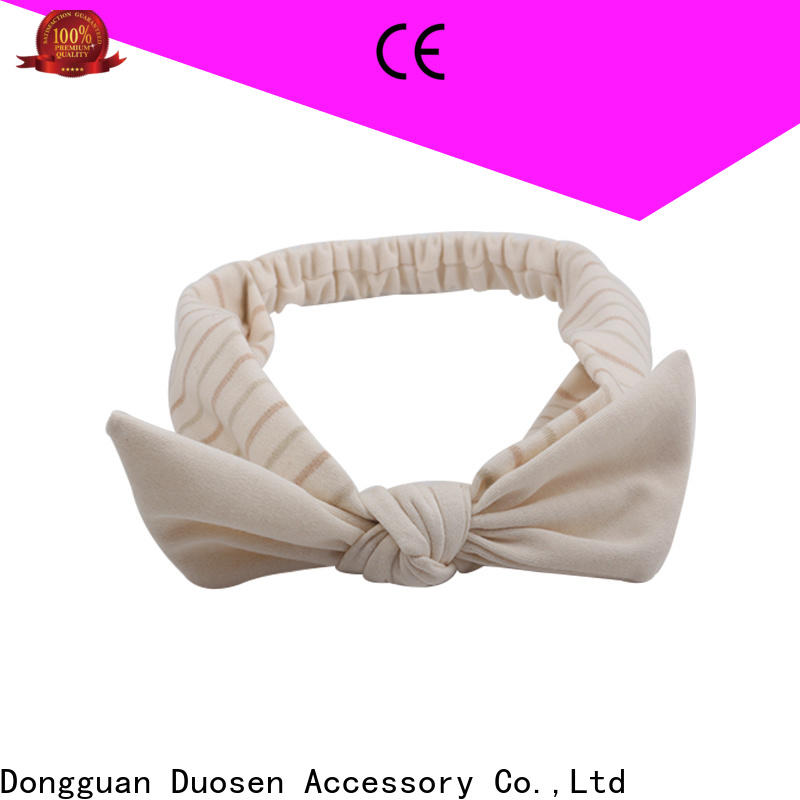 High-quality organic fabric hairband hair for business for daily Life