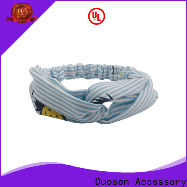 Duosen Accessory multifunctional fabric alice band factory for running