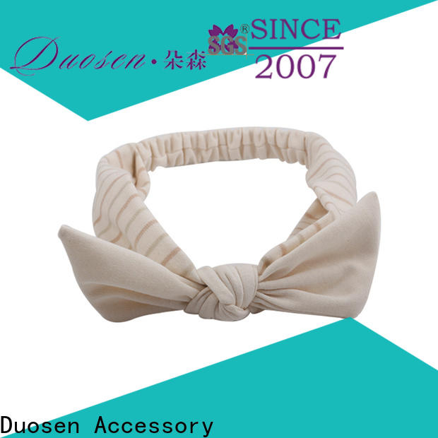 Duosen Accessory High-quality wire fabric headband Supply for sports