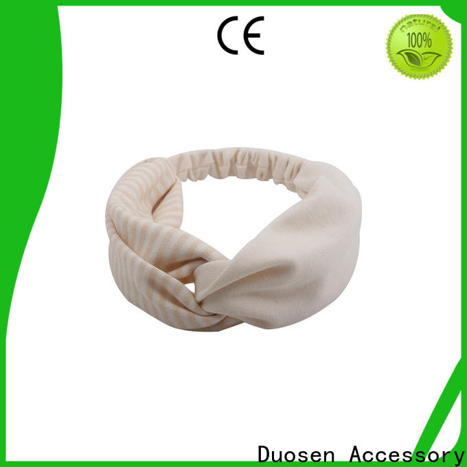 Duosen Accessory Wholesale turban headband manufacturers for daily Life