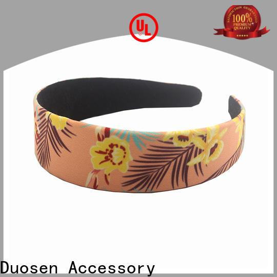 Duosen Accessory Best fabric headbands company for daily Life