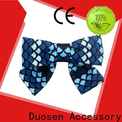 Duosen Accessory Latest how to make a real flower hair clip company for party