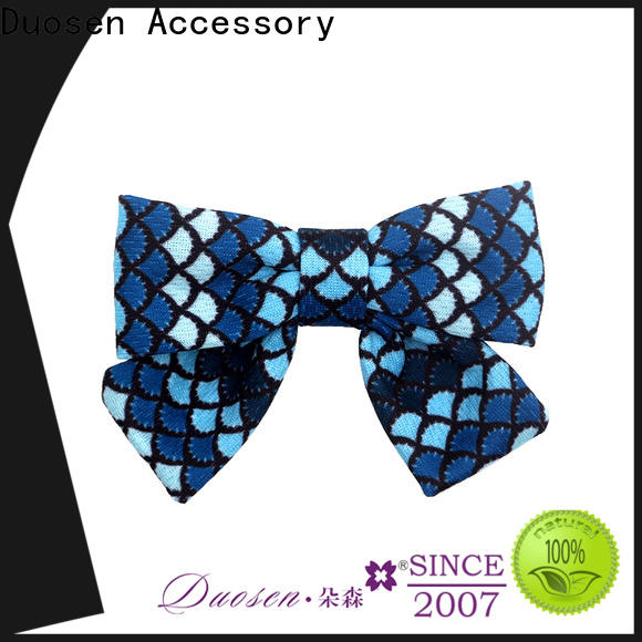 Duosen Accessory ecofriendly tiny fabric bows for business for party