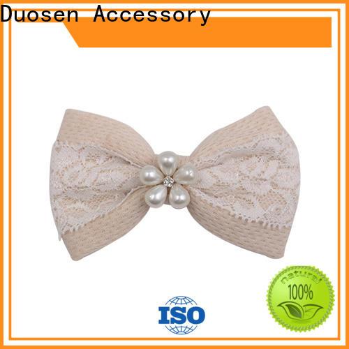 Duosen Accessory High-quality handmade hair scrunchies company for girls
